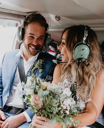 Отправились в свадебное путешествие сраз