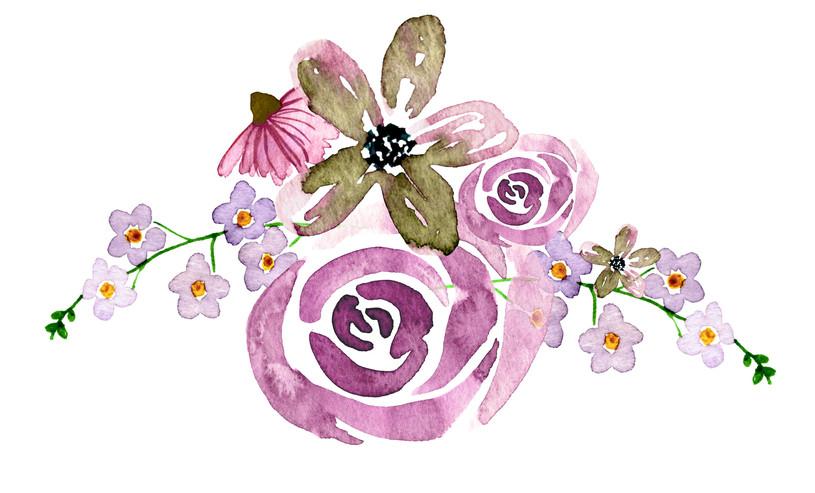 Květinový dekor