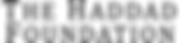 Logo The Haddad Foudation