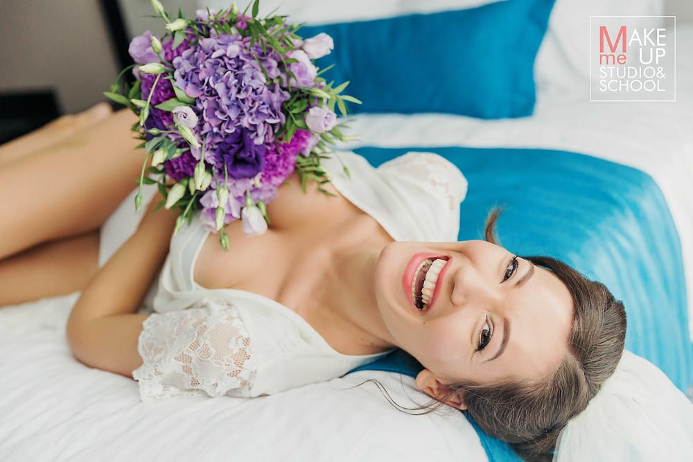 Свадебный аэромакияж в Одессе