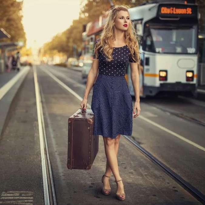 Многие будущие визажисты приезжают учится в большие города