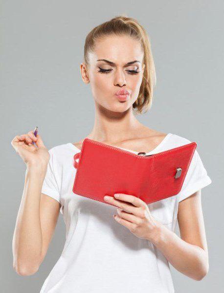Визажист-стилист должен записывать в ежедневнике и календарях как можно больше примечаний о предстоящей встрече