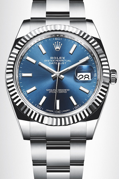 Rolex 126300 Datejust Blue Dial 40mm