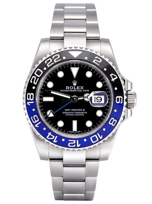 "Rolex 116710 BLNR GMT Master II ""Batman"" 40mm"