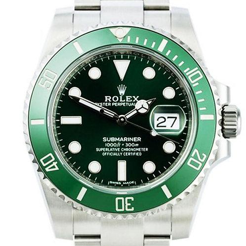 """Rolex 116610LV Submariner """"Hulk"""" 40mm"""