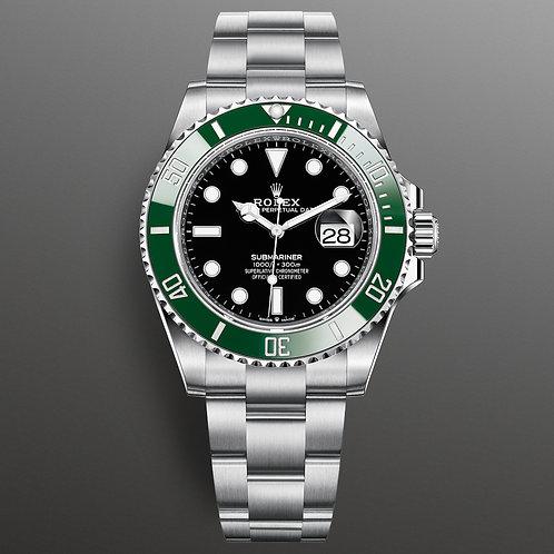 "Rolex 122610LV Submariner ""Kermit"" 40mm"