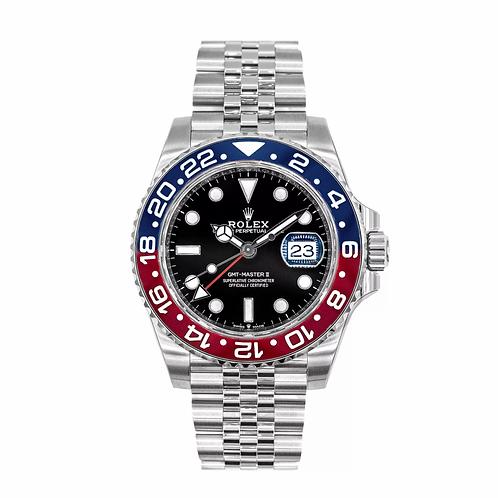 "Rolex 16710BLRO GMT Master II ""Pepsi"" 40mm"