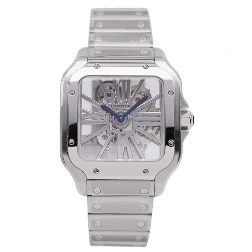 Cartier Santos 100 Esqueleto WHSA0015