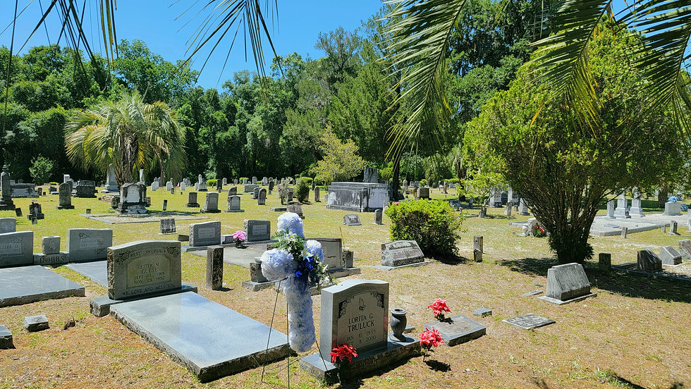 Image from Sapp Cemetery in Raiford Union County Florida