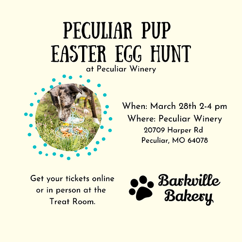 Peculiar Pup Easter Egg Hunt Tickets