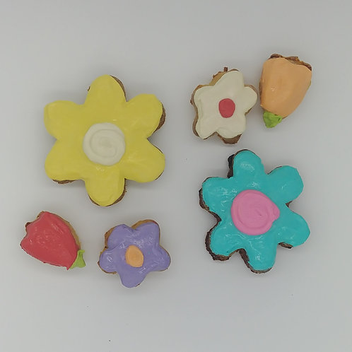 Spring Flowers Cookie Bouquet