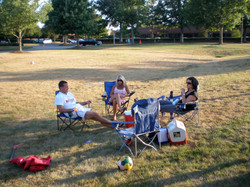 Family in the Duluth Park
