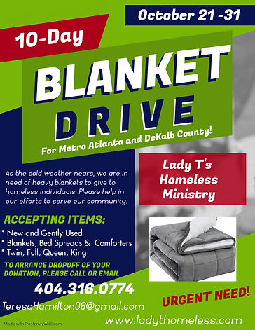 Lady Ts Blanket Drive Edit - Made with P