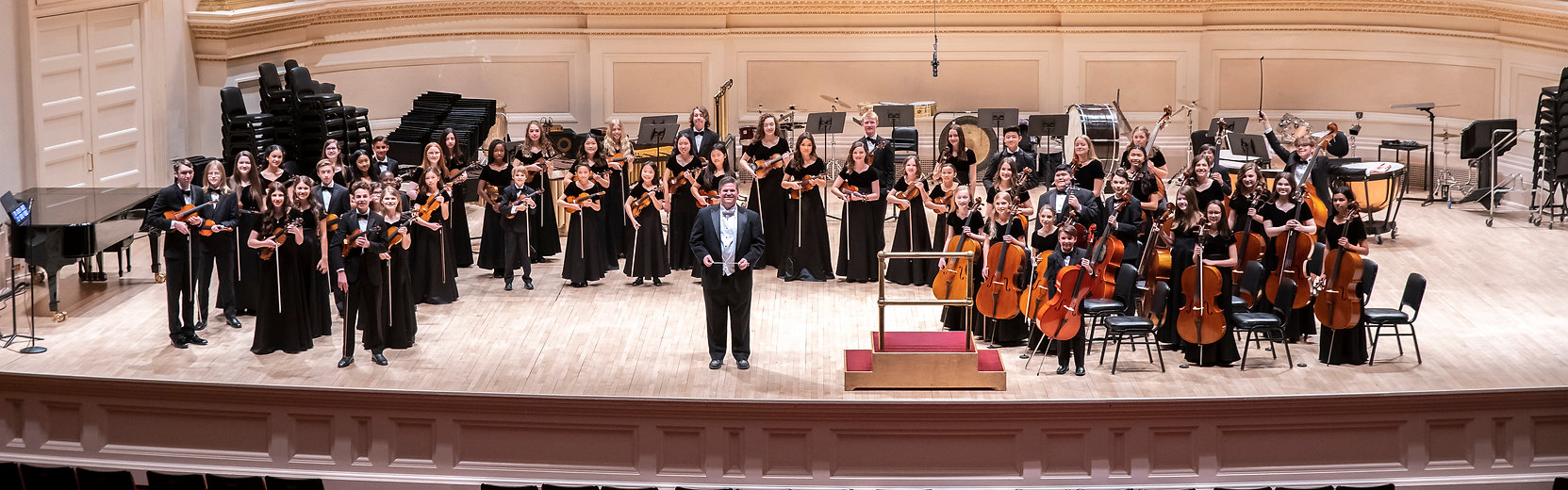 Carnegie Hall official picture of TCM-We