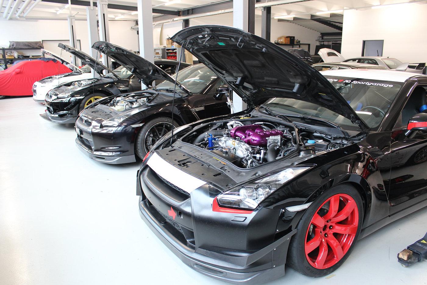 Unser Nissan GT-R - HKS GT1000