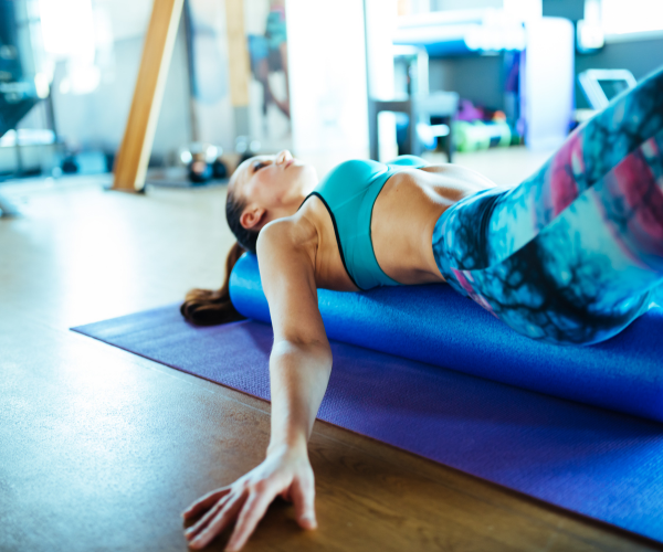 Foam rolling over a torn muscle can slow down repair and cause a lot of pain