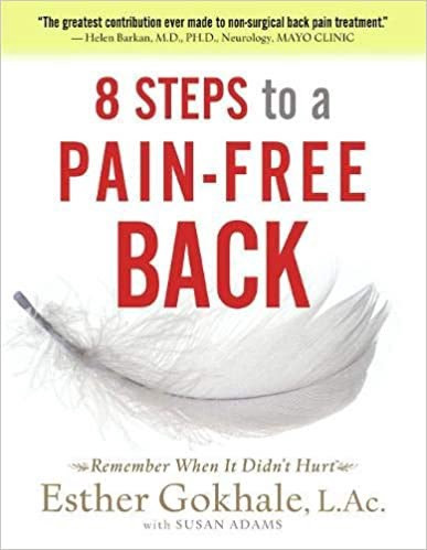 step-by-step guide designed to help those suffering from back pain re-educate their bodies and regain the posture for which our bodies evolved.