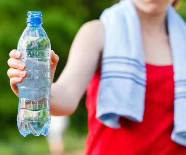 It is important to stay hydrated to keep the discs between your vertebrae soft and spongy to help them reduce friction.