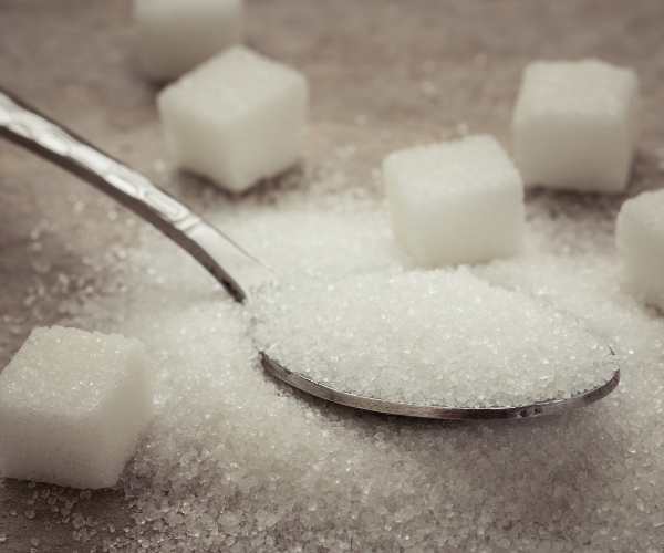 average American may be eating around 17 teaspoons (71.14 grams) of added sugar per day.