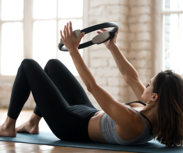 Pilates is a great way to strengthen your core and help prevent low back pain.