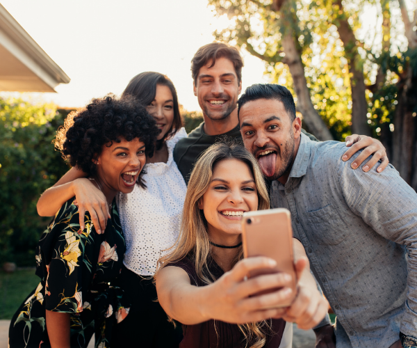 Studies have found that individuals with a larger number of friends had a higher pain tolerance and a larger number of endorphins.