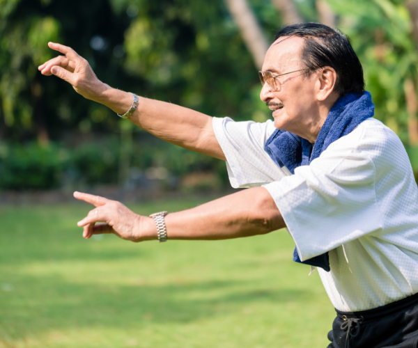 Tai Chi, yoga and pilates are great stretching workouts for relieving low back pain.