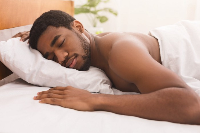 Sleeping on your stomach is one of the worst positions for chronic low back pain.