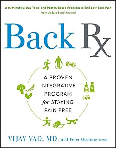 Dr. Vijay Vad's Back Rx program has helped readers with back pain, joint pain, arthritis, and related conditions for decades