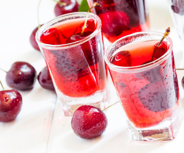 Cherry juice is high in antioxidants and is a great way to treat inflammation naturally.