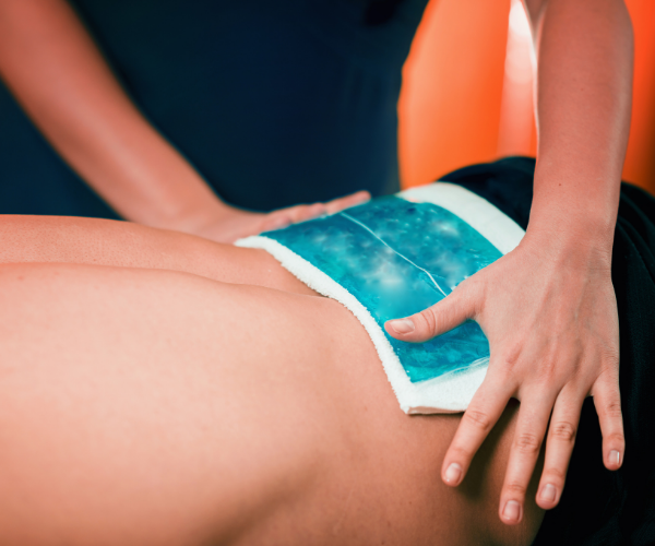 Ice packs  are a great way to reduce swelling and inflammation in a sore back.