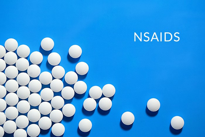 NSAIDs, such as ibuprofen, diclofenac, and naproxen, are the most common  medications prescribed for the treatment of low back pain.