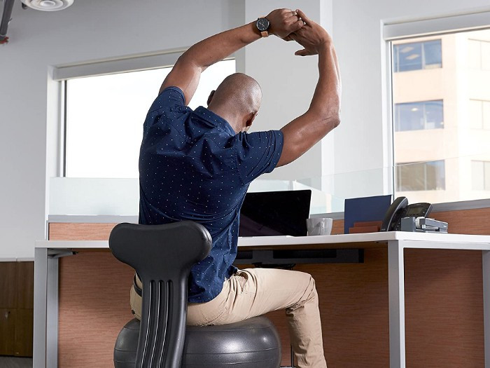 Unlike the formal workplace, many home offices have yet to be ergonimically aligned to help with low back pain.