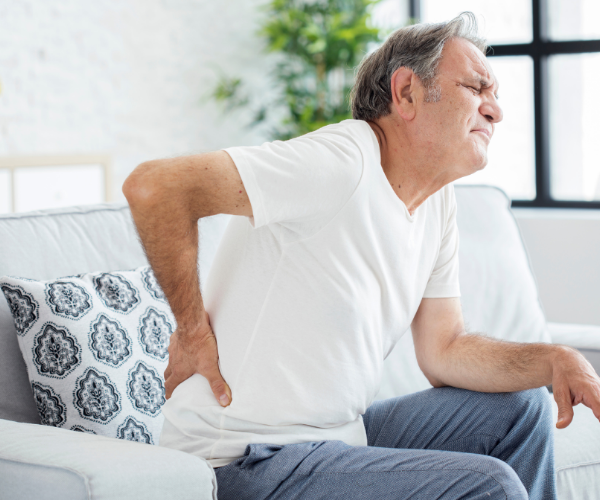 High cortisol levels can lead to persistent involuntary muscle tension - particularly in the neck, shoulders, and back.