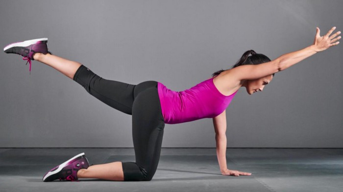 The Bird Dog is one of the best ways that you can learn how to use your core muscles to support and stabilize your lower back.