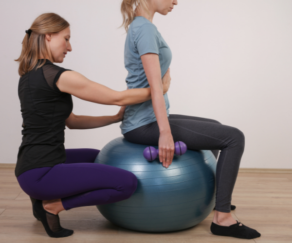 Strengthening your core muscles can help with scoliosis.