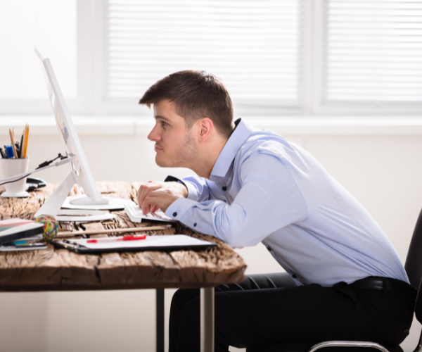 Poor posture is a key cause of chronic back pain.