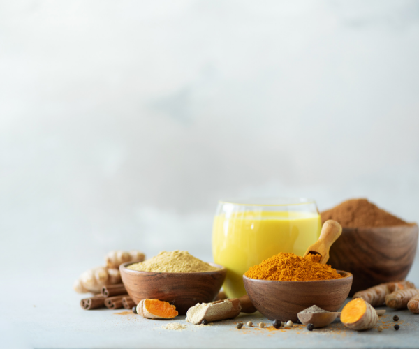 Supplements like turmeric are great for helping reduce inflammation and chronic low back pain.