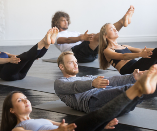 Pilates is a form of low-impact exercise that strengthens your muscles, while improving your posture and flexibility