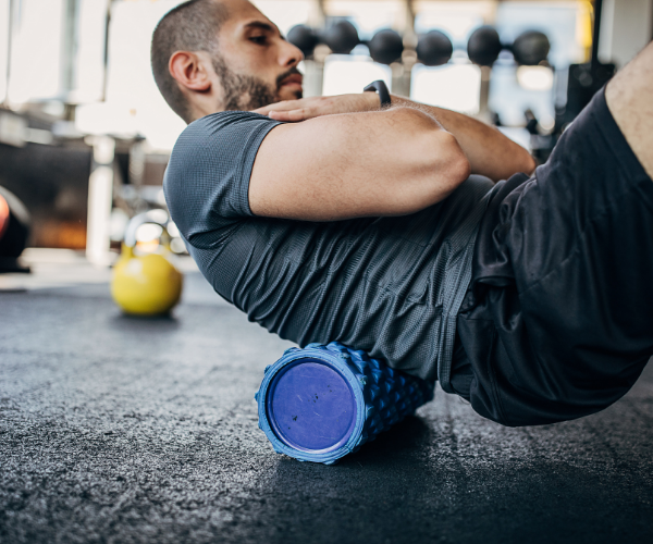 Foam rolling can have benefits both before, and after workouts.