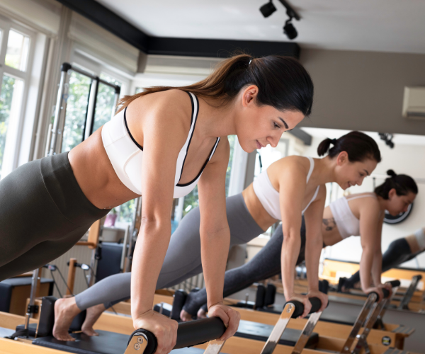 Pilates can help to strengthen your core, helping to improve chronic low back pain.