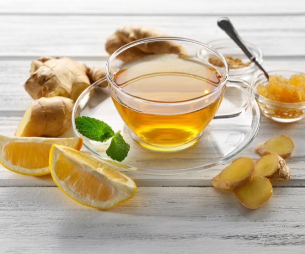Ginger green tea is a great way to reduce chronic low back pain.