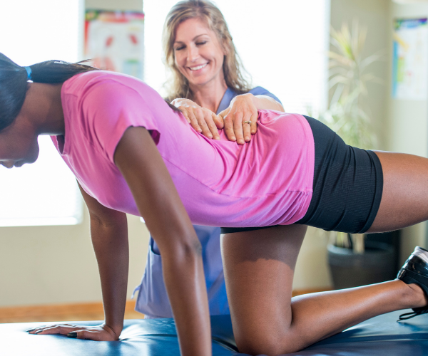 Physical therapy can reduce the need for medication in back pain patients.