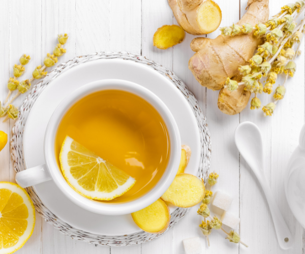 Tea is a great way to consume safe and effective levels of ginger.