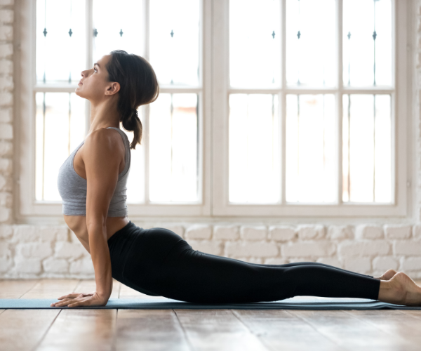 Yoga can be a great way to relieve lower back pain.