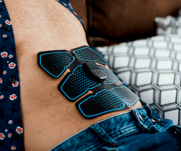Electrical Muscle Stimulation (EMS) is similar to TENS and is sometimes used to treat low back pain.