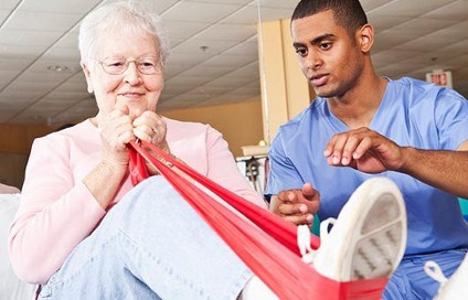 Physical therapy for low back pain can include manual therapies and strengthening exercises.