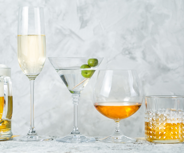 alcohol causes inflammation in the intestines and impairs the body's ability to regulate that inflammation.