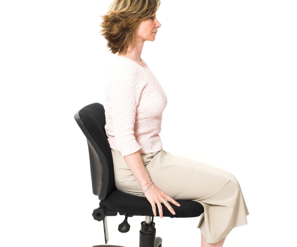 Ergonomic chairs and furniture can help reduce and prevent low back pain.