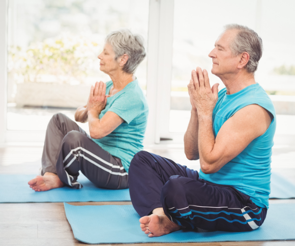 Low impact exercise such as walking, swimming, yoga can help with low back pain. n hep