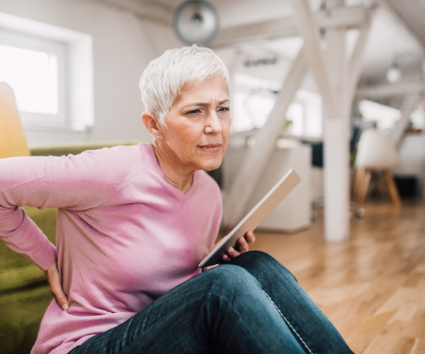 Being over 50 years old can be a red flag for low back pain